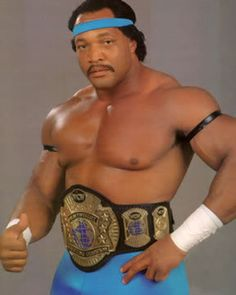 "WCW World Champion ""All-American"" Ron Simmons"