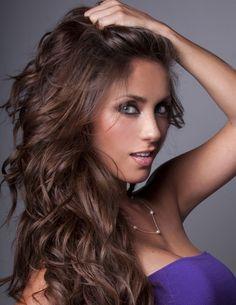 haircolors | Celebrity Hair Colors - Anahí with Brunette Hair (#490173 ...
