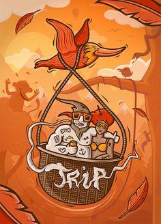 """Trip"" by Tomasz Guz - from Goverdose artpack #04 / theme: ""Trip"""