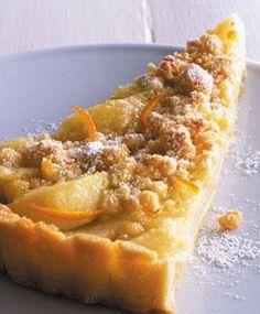 Im Herbst erfreuen uns süße Birnen als versunkener Birnenkuchen, Quark mit Karamellbirnen und Birnen im Schlafrock.