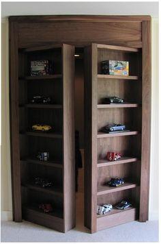 1000 Images About Hidden Closet Door On Pinterest