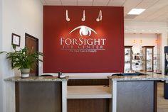 ForSight Eye Center | Doctor of Optometry Office Design | Barbara Wright Design