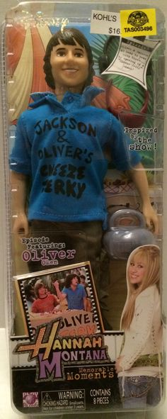 Disney - Hannah Montana Memorable Moments - Oliver Oken This item is NOT in Mint Condition and is in no way being described as Mint or even Near Mint. Our toys have not always lead the perfect life, n Disney And Dreamworks, Disney Pixar, Hannah Montana Funny, Old Disney Channel, Disney Shows, Disney Marvel, My Childhood Memories, Disney Quotes, Disney Movies