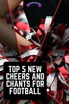 We love football season and we've got 5 new cheers and chants for football that are good to go the distance for your squad this season! These cheers and chants are guaranteed to get your football crowd pumped up this season! Cheerleading Chants, Cheerleading Workouts, Cheer Workouts, Cheers And Chants, Cheer Coaches, Football Cheerleaders, Football Quotes, Cheer Dance, 5 News