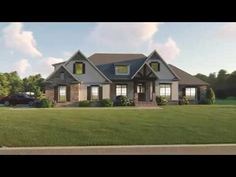Craftsman Plan: 2,589 Square Feet, 4-5 Bedrooms, 2.5 Bathrooms - 041-00174 Four Bedroom House Plans, Best House Plans, Dream House Plans, Outdoor Areas, Square Feet, Great Rooms, Future House, Craftsman, Building A House