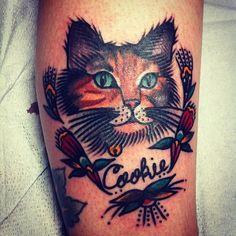 cat portrait #catlady