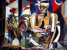 -Sabungero by Vicente Silva Manansala a Filipino cubist painter and illustrator Modern Art, Contemporary Art, Filipino Art, Philippine Art, Cubism Art, European Paintings, Comic Artist, Beautiful Paintings, Art Photography