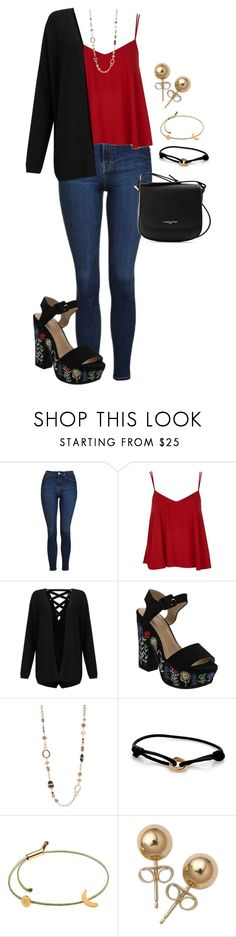 """""""Sendin' all my love along the wire"""" by alexamkincade ❤ liked on Polyvore featuring Topshop, Miss Selfridge, Ruby Rd., Cartier, Tadam!, Bling Jewelry and Lancaster"""