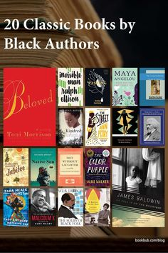 The ultimate list of classic books by Black authors to read next. #books #Blackauthors #classics