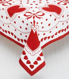 Captivating Valentine Tablecloth By Chasing Fireflies