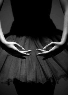 Dance, ballet, hands, gestures, elegant, graceful, skirt, silhouet, beautiful, amazing, photo b/w.