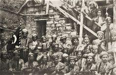 Maraş Kurtuluş savaş'ta Turk goenullu askerler y.1920