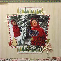 Oh, Snow - Scrapbook.com= like for 2 4x6 V