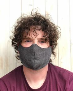 This grey mask with a red reverse side has been very popular.  . . Its now available in the tie style as well as the original elasticated style.  . . Its a unisex mask as with all my other masks on my shop.  . . Yes he needs a haircut.  . . #sewteadough #mask #facemask #covid #covid19 #coronavirus #wearamask #handmade #reusablemask #reversablemask #gentlefamiliesireland #caringtoshareyourbusiness #shopsmall #shoplocal #shopirish #gogreen #championgreen #manmask #etsy #etsyshop #wrapscrap… Tie Styles, I Shop, Masks, Champion, Hair Cuts, Unisex, Popular, The Originals, Sewing