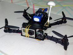 Mini spider quadcopter PD2015 by vpoten