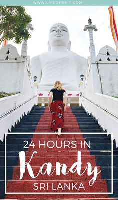 As Sri Lanka's second biggest city, there's no shortage of things to do in Kandy! Check out my guide to spending 24 hours in Kandy for your next adventure! Cool Places To Visit, Places To Travel, Travel Destinations, Laos, Sri Lanka Itinerary, Vietnam, Travel Guides, Travel Tips, Travel Goals