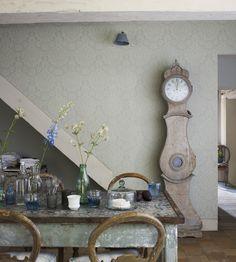 Rustic Living   Fabienne Wallpaper by Sanderson   Jane Clayton