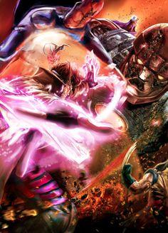 Gambit, Nightcrawler & Wolverine Vs. Sentinel
