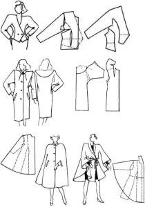 Vintage Coat and Cape Patterns