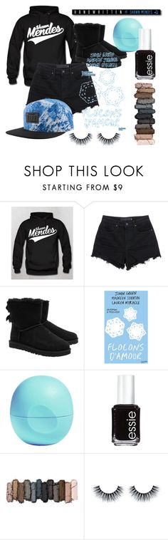 """Untitled #4"" by xlvlgx ❤ liked on Polyvore featuring T By Alexander Wang, UGG Australia, Eos, Essie, Urban Decay, women's clothing, women, female, woman and misses"