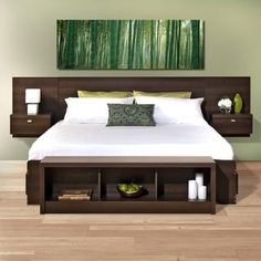 Valhalla Designer Series Floating King Headboard | Overstock.com Shopping - The Best Deals on Headboards