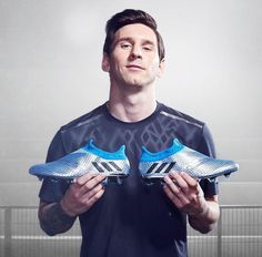 Messi and new laceless cleats