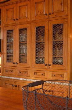 Bay Lake Cabin - rustic - kitchen - minneapolis - Albertsson Hansen Architecture, Ltd