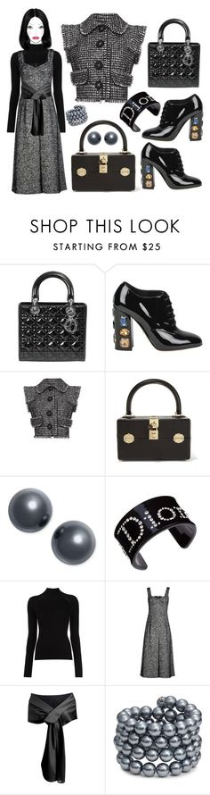 """City streets"" by ellenfischerbeauty ❤ liked on Polyvore featuring Christian Dior, Dolce&Gabbana, Charter Club, Misha Nonoo and Kenneth Jay Lane"
