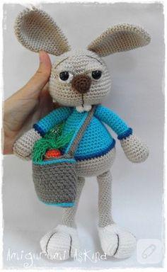 Tavşan Çikko - Amigurumi oyuncak