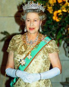 Queen Elizabeth II crowned in 1952.  House of Windsor.