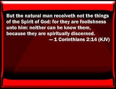 Image result for 1 corinthians 2 14