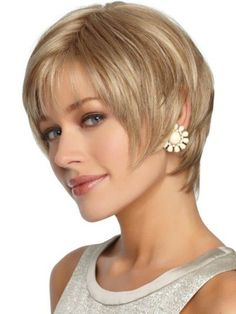 Cute Short Hairstyles for Oval Faces-2