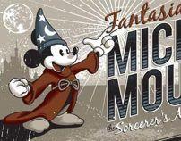 Mickey Mouse T-shirt by Fernando Regalado, via Behance