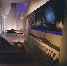 Bromley + Jacobsen Architecture 80s interior design