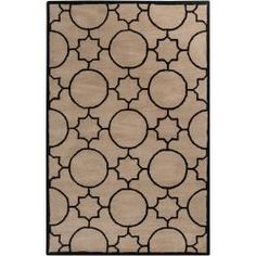 @Overstock - This beautiful Oscar ivory rug is a hand-tufted 100-percent wool rug. The rug is a larger size with a dynamic geometeric pattern.  http://www.overstock.com/Home-Garden/Hand-tufted-Oscar-Ivory-Wool-Rug-8-x-10/6458258/product.html?CID=214117 $349.99