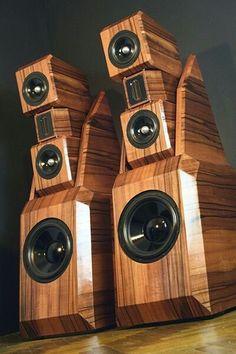 High End Speakers, Tower Speakers, High End Audio, Built In Speakers, Audiophile Speakers, Hifi Audio, Audio Speakers, Jl Audio, Audio Room