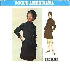 1960s Bill Blass Vogue Americana 1874 Dress Pattern by CynicalGirl, $55.00