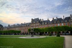 Visit Place des Vosges and the Victor Hugo House. The square, said to be the first planned square in Paris, was created in the 1600s. There are rows of arcaded promenades, shady trees, and plenty of benches. Follow this link to see more original pics!  http://mikestravelguide.com/things-to-do-in-paris-visit-place-des-vosges-and-the-victor-hugo-house/