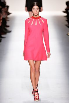 Who Won PFW? It's A 41-Way Tie #refinery29  http://www.refinery29.com/paris-fashion-week#slide36  There's absolutely nothing wrong with this entire Valentino look.