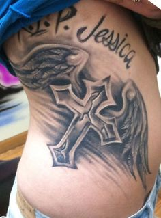 best cross tattoos for women - Google Search