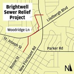 MSD to begin second sewer project in Florissant Chart, Cold, Water, Projects, Gripe Water, Log Projects, Blue Prints