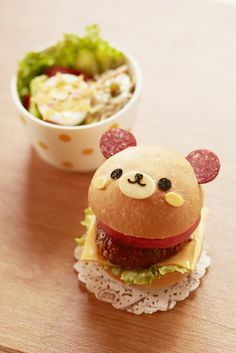 Bear Hamburger w/