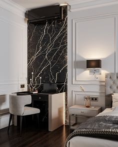 Minimal Bedroom Design, Minimalist Bathroom Design, Bedroom Closet Design, Bedroom Furniture Design, Home Decor Bedroom, Architect Design House, Luxurious Bedrooms, Home Decor Styles, Interior Design Inspiration