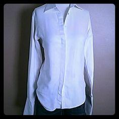 Pink TARTAN chrisp white shirt Pink TARTAN chrisp white shirt Pink TARTAN  Tops Button Down Shirts