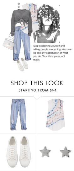 """You owe no one"" by tasteofbliss ❤ liked on Polyvore featuring Levi's, Raquel Allegra, Ashish, Gucci and Christian Dior"