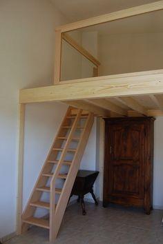 échelle meunier accès mezzanine Plus
