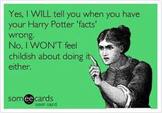 True Story ! #HarryPotterFacts #PotterMemes