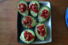 Individual Avocado Salads. Photo by MrCanmore