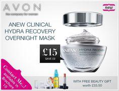 Avon - United Kingdom Avon Brochure, Overnight Mask, Avon Rep, Gifts, Store, Recovery, United Kingdom, Amazing, Pink