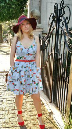 Sleeveless darling ranges dress